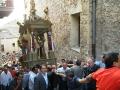 Fercolo di San Calogero in processione