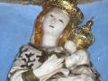 Particolare della Madonna dell'Alto